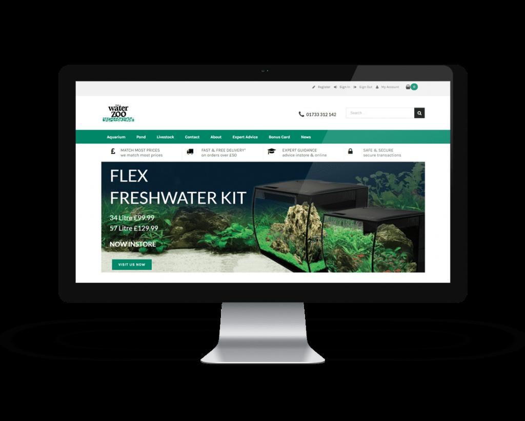 Waterzoo Website