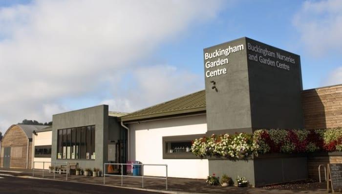 Entrance to Garden Centre in 2020