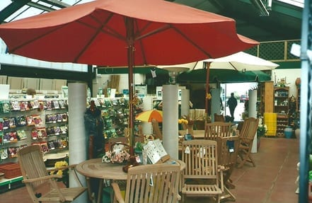 Garden Centre Furniture section in 2001