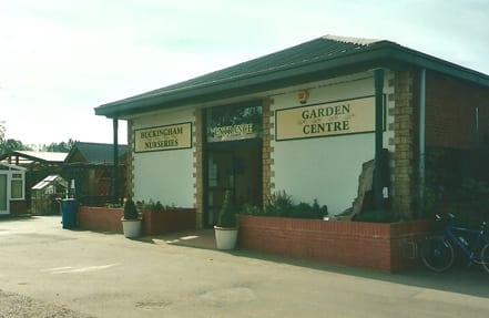 Entrance to Garden Centre in 2001